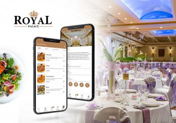 Portofoliu Royal Delivery - Aplicatie Mobile pentru restaurant cu livrare mancare la domiciliu