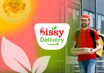 Portofoliu Sissy Delivery - Aplicatie Mobile Android & iOS tip agregator pentru restaurante cu livrare la domiciliu