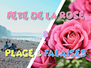 Fête de la Rose 2021 & Falaises normandes - 5 septembre