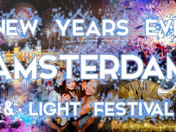 Réveillon Nouvel An & Light Festival in Amsterdam 2019