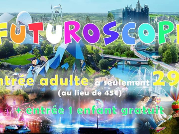 Weekend Futuroscope & Poitiers & Tours