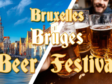 Weekend Bruxelles & Bruges & Festival de la Bière 79,9€ Promo