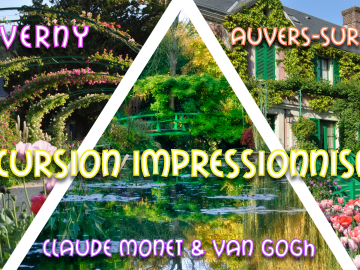 Giverny & Auvers : Excursion Impressionnisme | Monet & Van Gogh