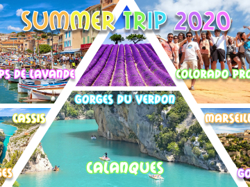 Summer weekend Marseille, Calanques, Champs Lavande, Plage 2020