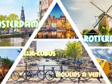 Amsterdam & Rotterdam & Moulins à Vents & Kijk-Kubus 2020