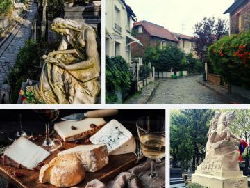 Visite guidée 'Les énigmes de l'est parisien' & événement wine and cheese