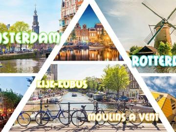 Amsterdam & Rotterdam & Moulins à Vents & Kijk-Kubus 2021