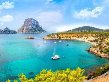 Voyage Ibiza - 7 jours vol, hôtel, activités 399,9€ - possibilité d'ajuster la durée