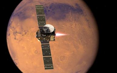 Depozit de apă sărată lichidă pe Marte