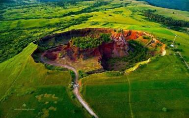 Ultimul vulcan care a erupt în România