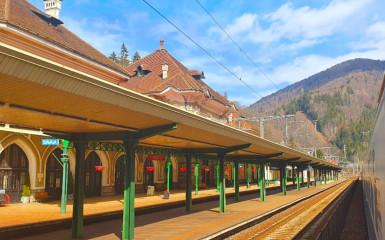 Am fost cu trenul din București spre Valea Prahovei. Mai mergem?