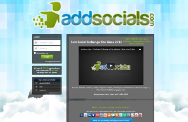 Platforma Retele Sociale - addsocials