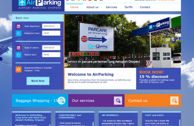 Private parking management software CRM - Skyparking