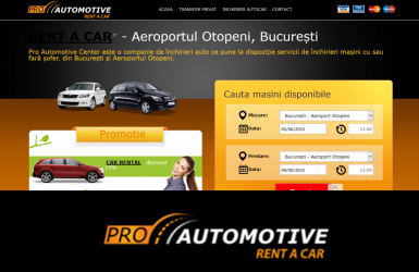 Rent a Car Platform - Proautomotive