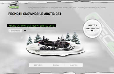 Magazin Online Snowmobile Arctic Cat