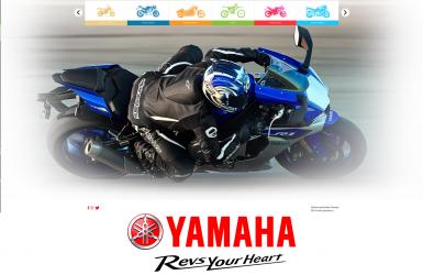 Site Prezentare Motociclete Yamaha