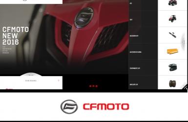 Site Prezentare ATV CFMOTO