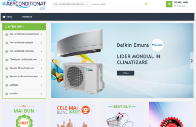 Online Shop - Air Conditioning
