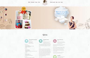 Realizare site de prezentare Atelierul de Zahar
