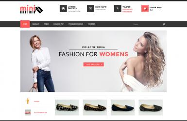 Realizare Magazin Online de Haine si Accesorii Fashion