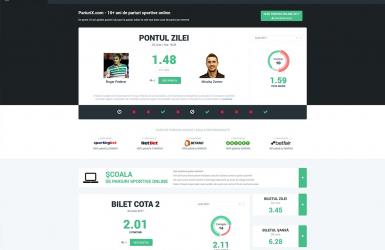 Platforma online cu ponturi de pariere si agentii de pariuri - PariuriX