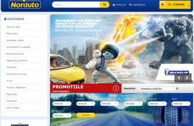 Realizare magazin online piese auto - Norauto