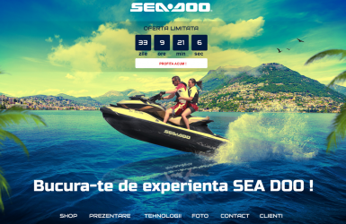 Online Shop with Ski Jets - Sea Doo