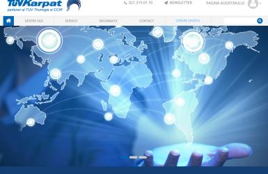 Website de prezentare - TuvKarpat