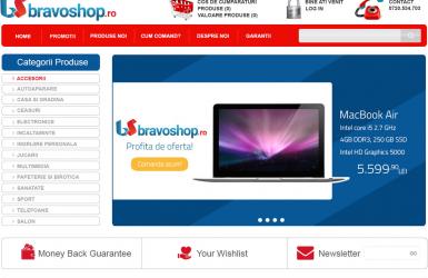 Online Store - BravoShop