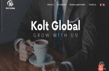 Website de Prezentare Firma de Consultanta - Kolt Global