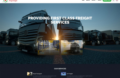 Website de Prezentare Casa de Expeditii – FrigoFreight