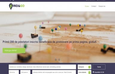 Platforma Online de Promovare Anunturi, Locatii sau Servicii – Find and Go