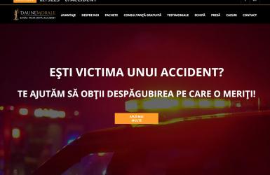 Website de Prezentare Firma Despagubiri Asigurari – Daune Morale