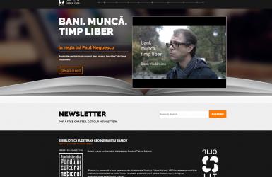Dezvoltare Website Booktrailere - Proiect Cultural 'CLIPLIT'