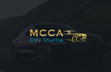 Presentation website for a company's exclusive transport and airport transfer services - MCCA City Shuttle
