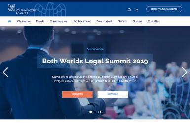 Platforma web pentru administrarea si sustinerea partenerilor italieni din Romania - Confindustria