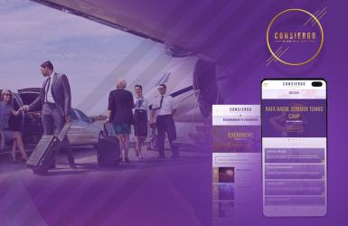 Aplicatie Mobile Android & iOS dedicata serviciilor de concierge - Consiergo