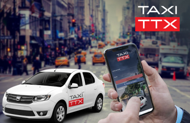 Mobile app for ordering a taxi online - Taxi TTX