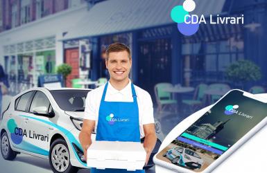 Aplicatie livrare mancare pentru restaurante – CDA Livrari