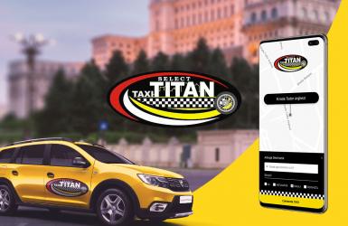 Aplicatie Mobile Android & iOS pentru Comenzi Taxi - TAXI TITAN