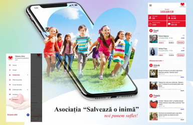 iOS & Android application for the Association 'Salveaza o inima'