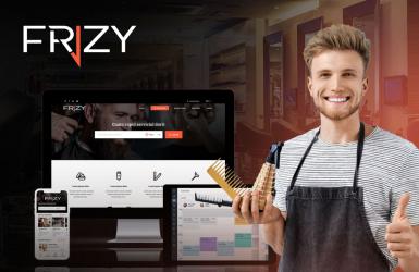 Platforma web pentru programari saloane de infrumusetare - Frizy