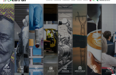 Eutron – Website de prezentare si administrare servicii companie