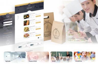 YVY Catering - Platforma Web pentru comenzi catering dedicata Institutiilor