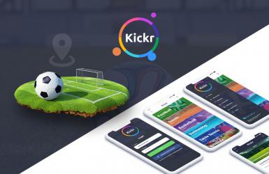 KICKR - Aplicatie Android & iOS pentru rezervare terenuri de sport