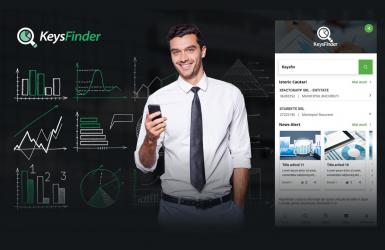 KeysFinder - Aplicatie Mobile pentru verificarea in timp real a informatiilor despre companiile din Romania