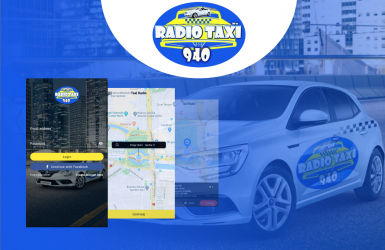 Radio Center - Aplicatie taxi pentru Android si iOS