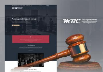 BEJ Bogdan Mihai Cojocaru - Website de prezentare