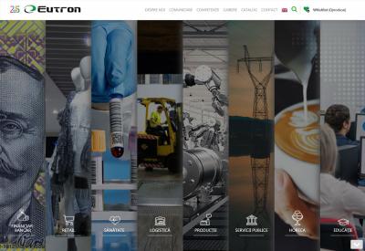 AppMotion - Aplicatii WEB&Mobile | Servicii Software | Custom Eutron – Website de prezentare si administrare servicii companie
