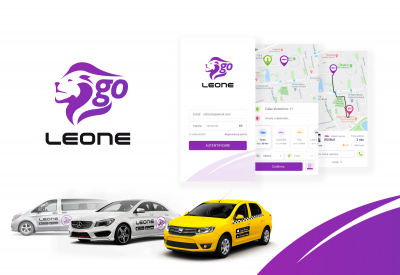 AppMotion - Aplicatii WEB&Mobile | Servicii Software | Custom LeoneGo - Aplicatie Mobile iOS & Android Ridesharing